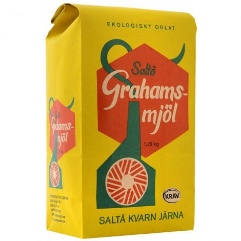 Grahamsmjöl - 1,25kg