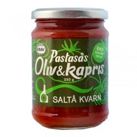 Pastasósa - Ólífu og Kapris - 350gr